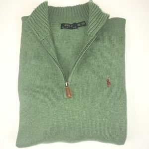 Polo Half Zip Sweater